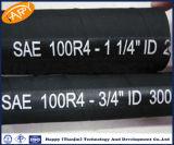 Boyau d'aspiration et de renvoi du pétrole R4 hydraulique de SAE 100