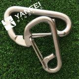Crochet instantané simple de delta de l'acier inoxydable AISI304/316