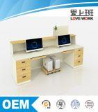 Design moderno de Recepção de madeira para venda