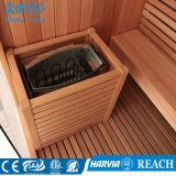 2000*1800*2000mm 독립 구조로 서있는 삼목 나무로 되는 Sauna 내각 (M-6041)