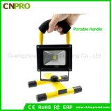 luz Emergency recarregável portátil de luz de inundação da luz do trabalho do diodo emissor de luz 10W