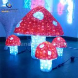 IP44를 가진 Outdoor 정원 Decoration를 위한 LED Acrylic Outdoor Decoration Mushroom Christmas Lights