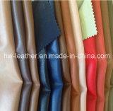 Couro PU de alta qualidade para jaqueta masculina Hw-755