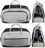 Luxe Pu Golf Boston Bag met Shoes Compartment (gp-BB01)