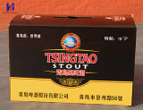 Изготовленный на заказ пить печатание цвета/коробка коробки упаковки пива/сока Corrugated