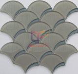 Chorro de agua mosaico de vidrio cristal de la escala de peces (DPT62).