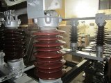 Switch 33 KV, 17.5 Ka, 800 - 1250 ein Wit, 17.5 Ka, 800 - 1250 abschalten ein Without Grounding Blade Double Break