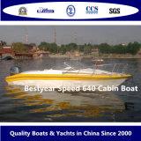 Snelheid 640 de Boot van de Cabine voor Sport