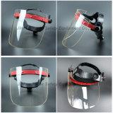 Protetor de rosto Tela Acrílico Ratchet máscara facial de Suspensão