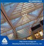 Telhado de aço da clarabóia do fardo do projeto novo para o edifício da decoração