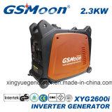 generador silencioso estupendo compacto de la gasolina del inversor de 2.3kVA 4-Stroke con la aprobación