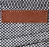 Saco da trouxa do portátil da escola do couro da tela da estrutura do preço de grosso