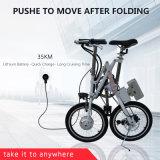 18 Zoll-Ministadt-elektrisches Fahrrad, das schnell elektrisches Fahrrad faltet
