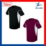 Healong Spitzenverkaufs-Sportkleidung eindeutiger Cut&Sew normaler Baseball Jersey