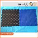 Fácil instalar los azulejos de suelo del garage del azulejo del rompecabezas del vinilo