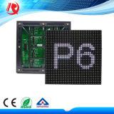 Schermo di visualizzazione esterno luminoso eccellente impermeabile del LED del modulo SMD P6 del LED