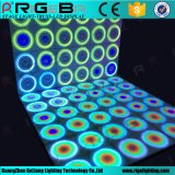 IP65 de patentes de acrílico de dinámica de portátil de la pista de baile de LED panel de pared de la luz de la etapa
