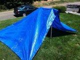 Résistance aux déchirures et traitement UV Bâche feuille Matériau d'ébarbage