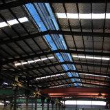 Gruppo di lavoro chiaro prefabbricato della struttura d'acciaio per la fabbrica