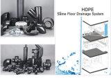 50 mm de plástico accesorios de tubería de drenaje (trampa HDPE s)