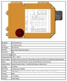 433MHz 12 contrôleur industriel de Radio Remote d'élévateur de grue des glissières F24-12s