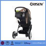 Saco Multifunctional do tecido do organizador do armazenamento do transportador do carrinho de criança