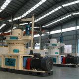 Pallina di legno del motore diesel della buccia del riso della biomassa che fa macchina