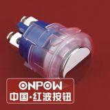 Onpow 16мм кнопочный выключатель (GQ16H-10/PC, КХЦ, CE, RoHS)