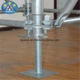 Andamio galvanizado sumergido ampliamente utilizado de Ringlock del tubo para los edificios altos