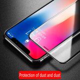 protecteur mobile antipoussière d'écran en verre 5D Tempered pour la note 8 de galaxie de Samsung 5 4 3 S8 S7