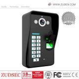 Fingerabdruck-videotür-Telefon mit Fingerabdruck-Zugriffssteuerung