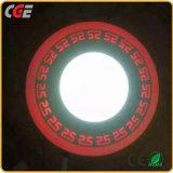 Voyant allume la LED témoins du panneau de plafond encastré double carrés ou ronds Voyants du panneau de couleur