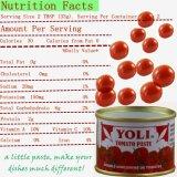 Brix 28-30% van de tomatenpuree Cava Merk Ingeblikte Tomatenpuree