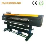 Maquinaria solvente de la impresora de la inyección de tinta plana del formato grande de la alta calidad