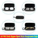 AC pano-762 Zipper Sport óculos de sol estilo caso