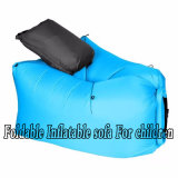 カスタムロゴの中袋および枕が付いている屋外の膨脹可能な空気ソファーか不精な椅子
