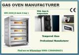 Commercieel Gas van uitstekende kwaliteit 3 Dek 3 van de Apparatuur van de Catering de Oven van de Broodrooster van het Dienblad met Ce