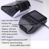2017 новый ID достигать 2,45-дюймовый автомобильный регистратор с маршрута слежения GPS Car панели камеры, карты Google воспроизведения, GPS Logger автомобильный цифровой видеорегистратор DVR-2408