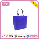 Tiefe blaue elegante annehmbare schöne Kleidung-Papierbeutel