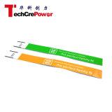 Wristband de papel disponible de la viruta 860-960MHz RFID de la ISO 18000-6c de la frecuencia ultraelevada EPC de Z007-E