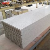 人工的な石造りの氷河白いアクリルの固体表面シート