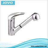 La porcelaine sanitaire à poignée simple robinet mélangeur de cuisine&JV73509