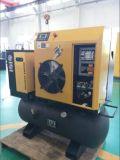 Compresor de aire de tornillo portátil (4KW).