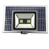 屋外ランプアルミニウムLED太陽洪水ライト
