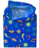 Продукция фабрики подгоняла напечатанную логосом грелку Tubies шеи полиэфира Microfiber малышей голубую