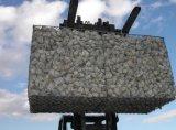 Engranzamento sextavado galvanizado da caixa de Gabion do MERGULHO quente