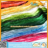 De kleurrijke Katoenen dwars-Stikt Draad van het Borduurwerk