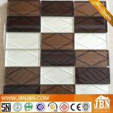 アメリカ市場の新しいデザイン、灰色カラー3Dガラス・ブロックのモザイク(G848013)