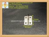 小さい機械ドアのステンレス鋼のヒンジ