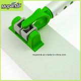 Qualitäts-flacher Aluminiummopp mit Flausch-Streifen